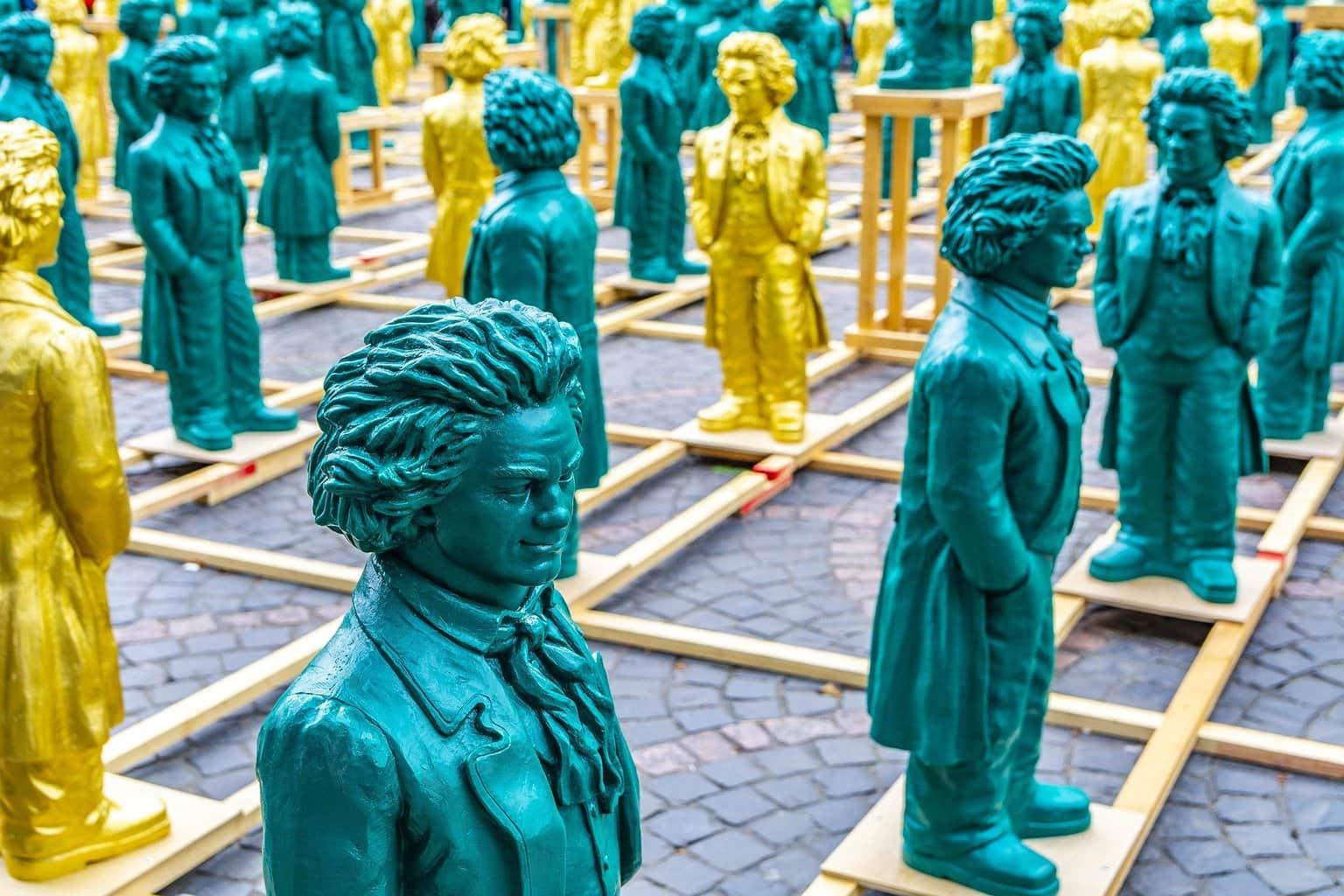 Bonn is de geboortestad van Beethoven