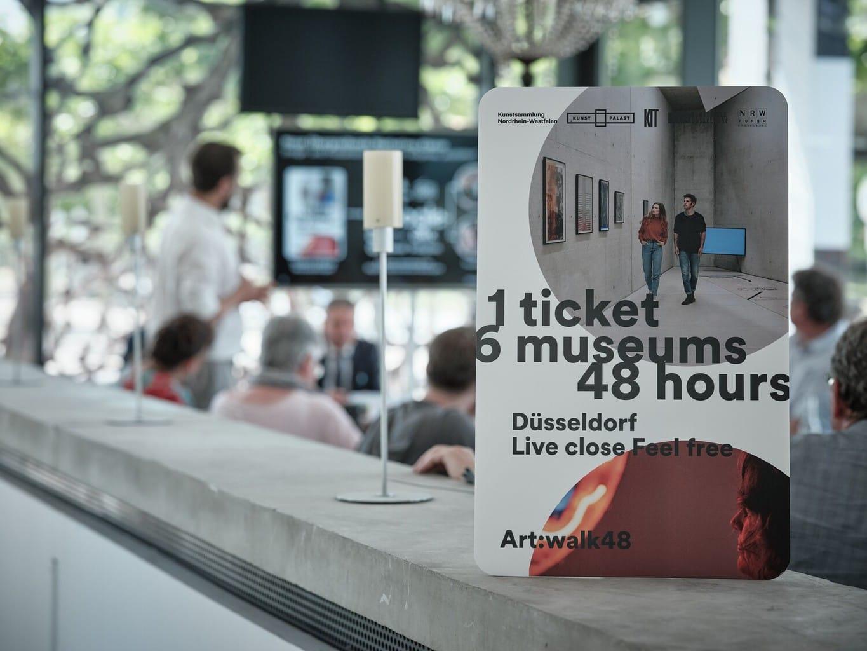 Met het nieuwe art walk ticket kun je coole dingen doen in Düsseldorf