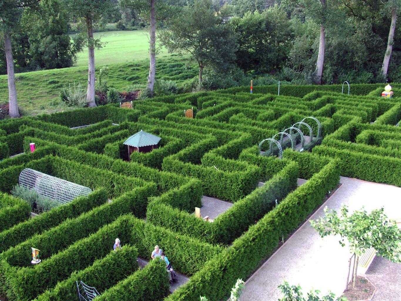 Tuinlabyrinth in het Duitse Emsland zes redenen voor een gezinsvakantie in het Emsland