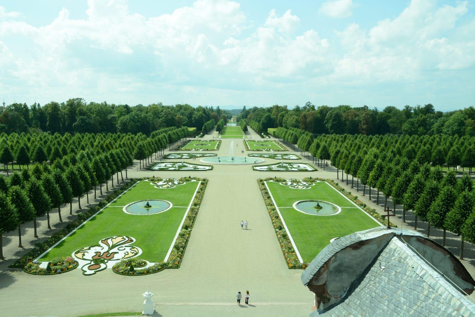Franse Tuin in Kasteel Schwetzingen