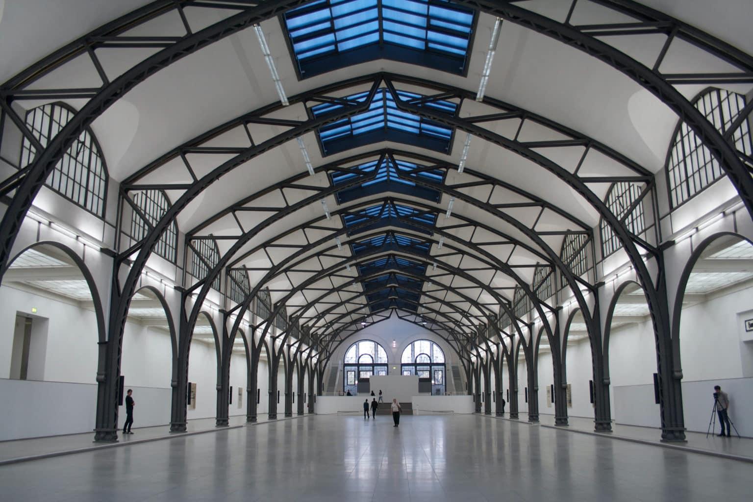 Her Museum Hamburger Bahnhof Museum voor hedendaagse kunst in Berlijn