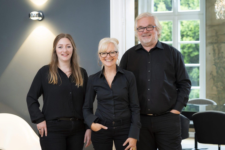 Desinger Hannah Loch, Corinna Kretschmar-Joehnk en Peter Joehnk