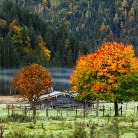 Het wandelseizoen in de Chiemgau is verlengd tot eind november
