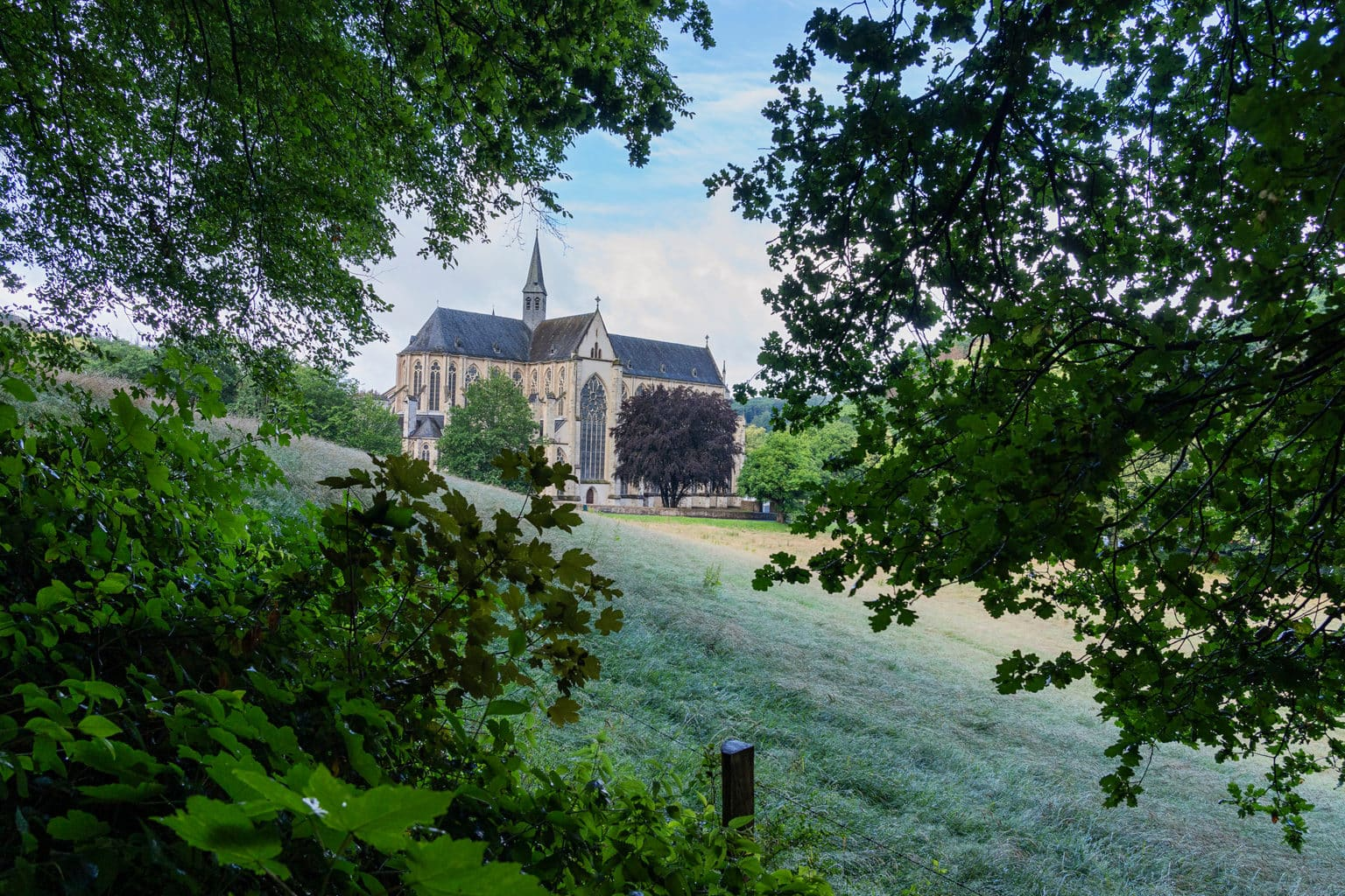De Altenberger Dom in de buurt van Keulen