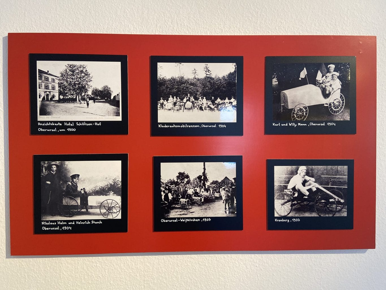 Historische fotos over het begin van de Duitse traditie die zeepkistenrace heet