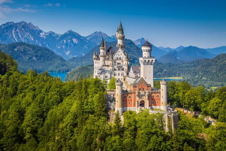 Kasteel Neuschwanstein is misschien wel de meest romantische plek van Duitsland