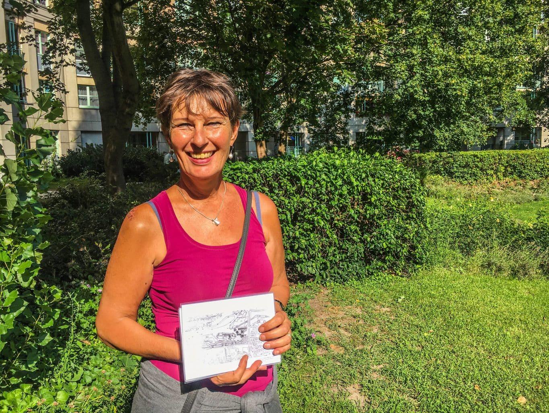 Gids Kerstin Freese-Rönnbeck in Berlijn Reinickendorf