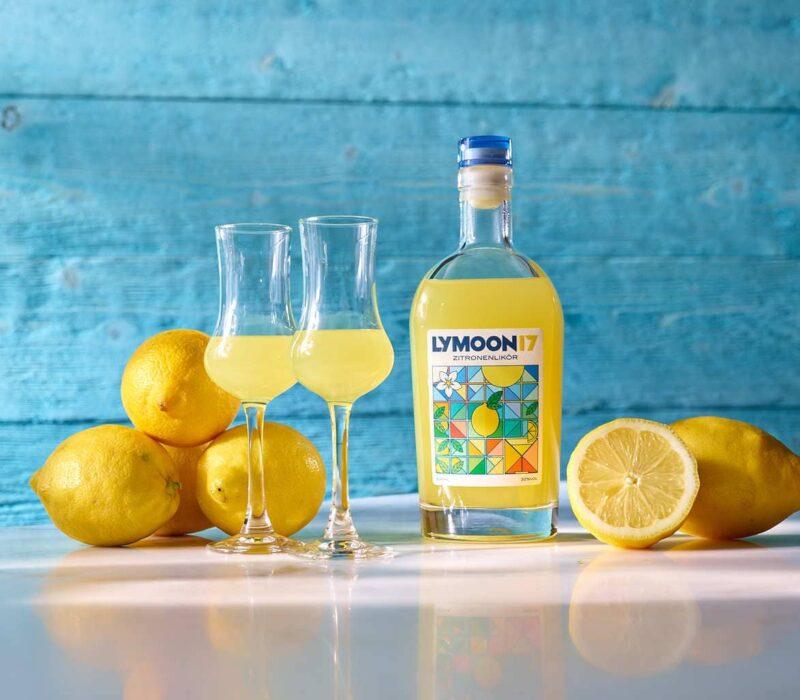 Lymoon 17 is een limoncello uit Duitsland
