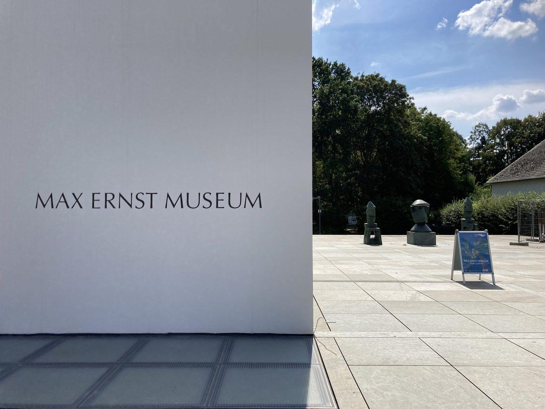 Het Max Ernst Museum in Brühl in de buurt van Keulen