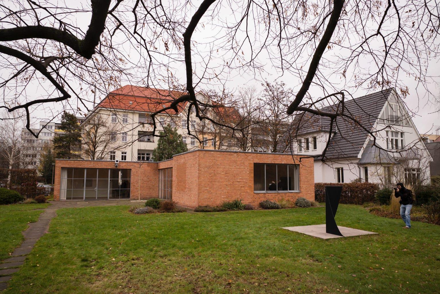 Het Mies van der Rohe huis in Berlijn
