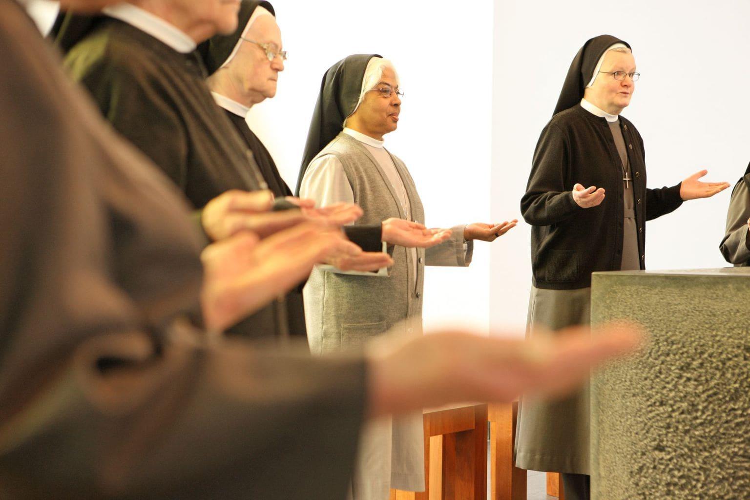 Nonnen in Klooster Hegne ontvangen gestressde bezoekers