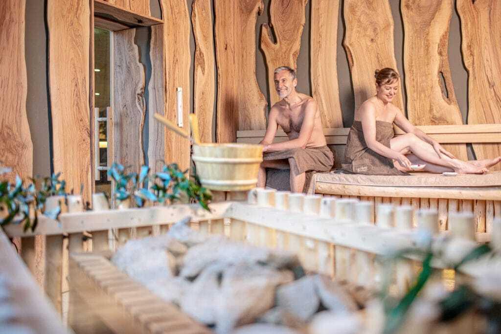 Sauna van de havel-therme in Werder