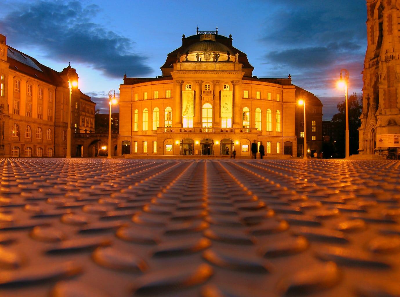 Chemnitz wordt culturele hoofdstad van Europa 2025 met zijn operagebouw