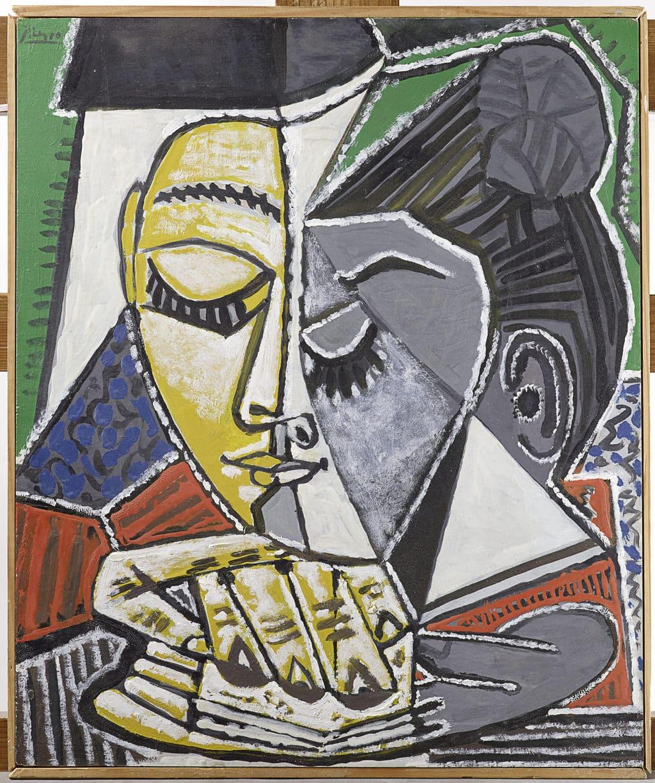 """Pablo Picasso, """"Hoofd van een lezende vrouw"""" (1953)"""