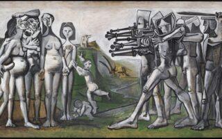 """Pablo Picasso, """"Massacre in Korea"""" (1951)"""