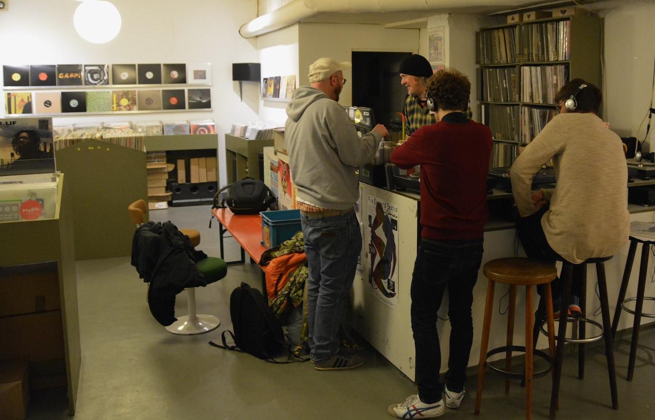 Groove Attack is een platenwinkel in Keulen met grotse reputatie