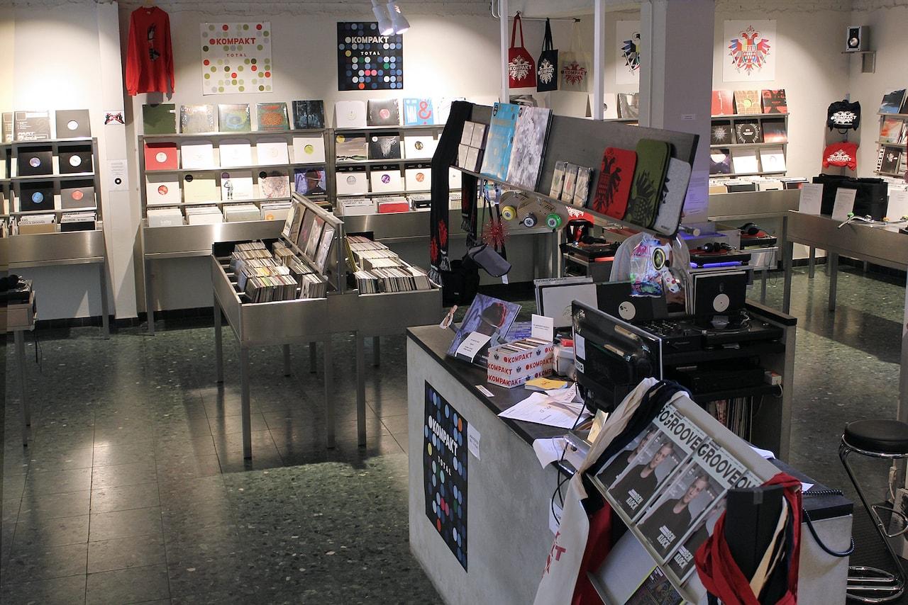 Kompakt Schallplatten in Keulen is een magnet voor bezoekers uit de hele wereld
