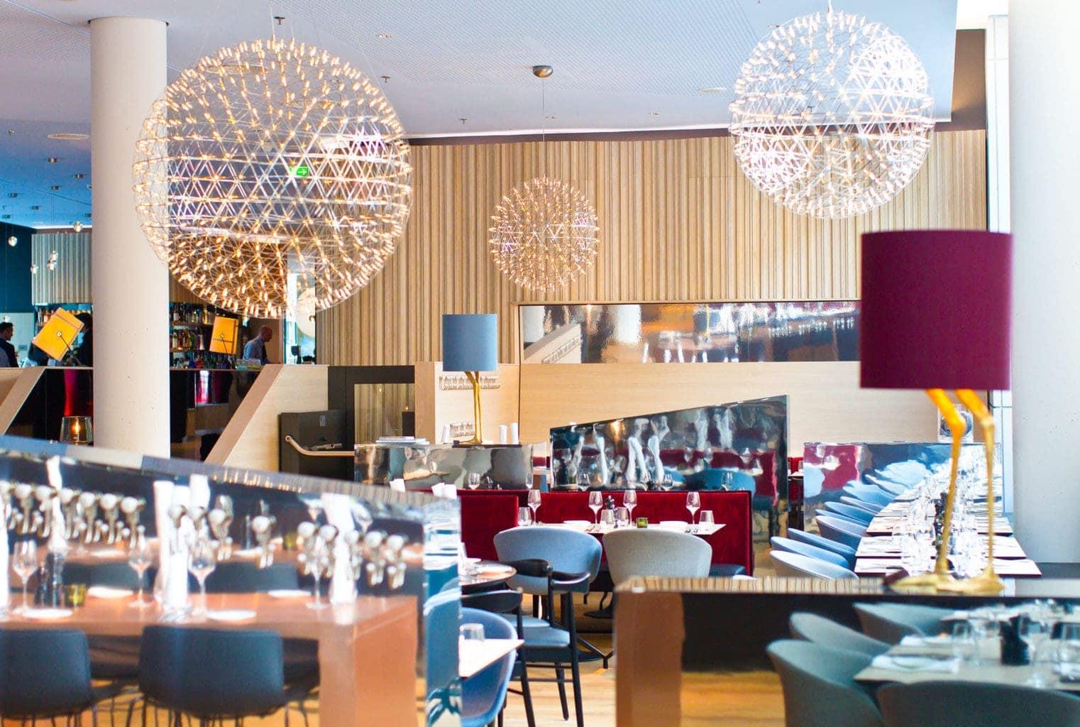 Het restaurant in Hotel Scandic Hamburg Emporio