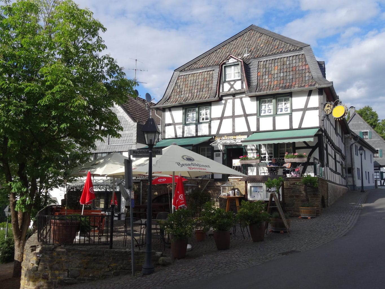 Een van de uitstapjes rondom Keulen brengt je naar Stadt Blankenberg in de Rhein-Sieg-Kreis