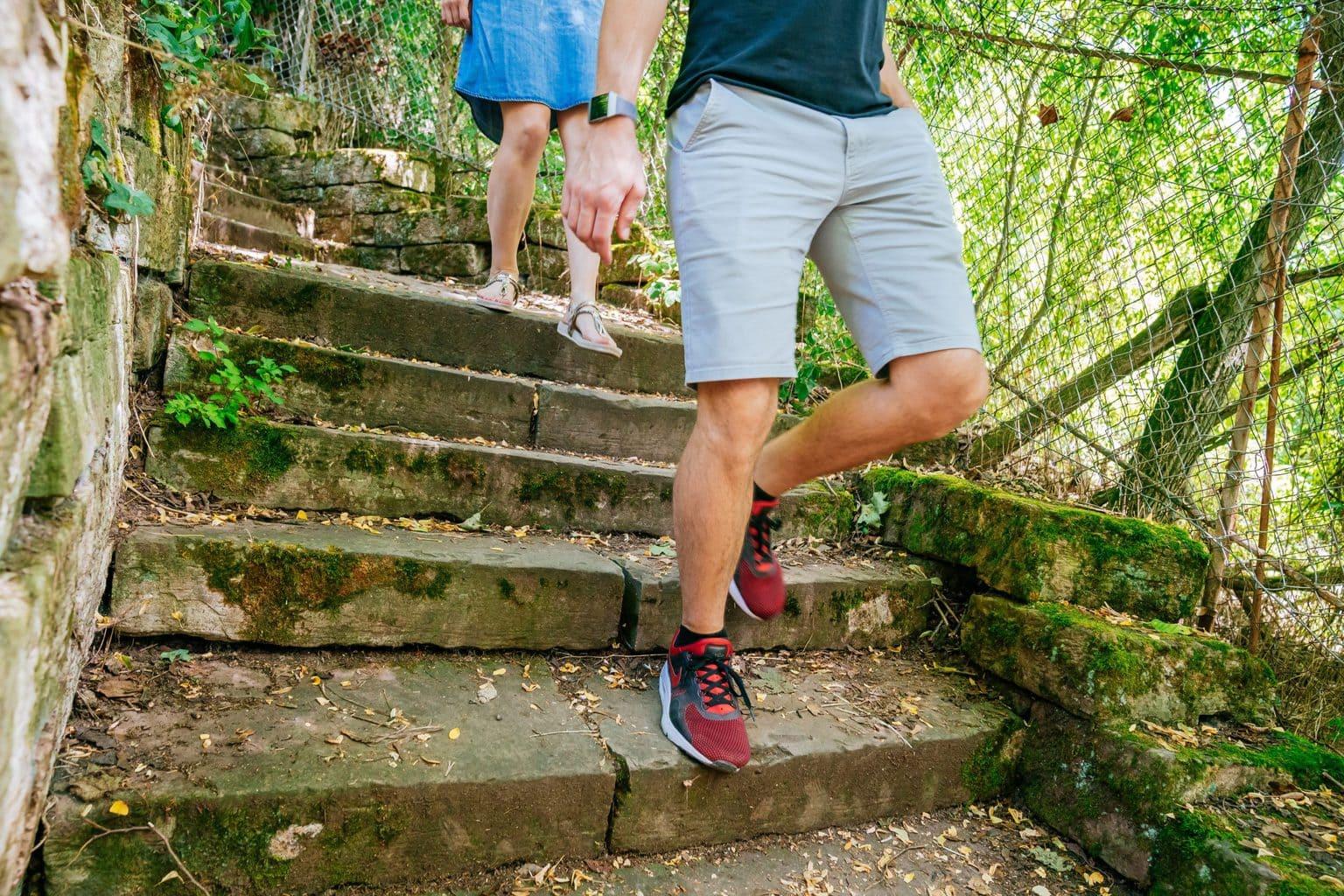 Wandelen in Stuttgart betekent trappen lopen op de Stäffele