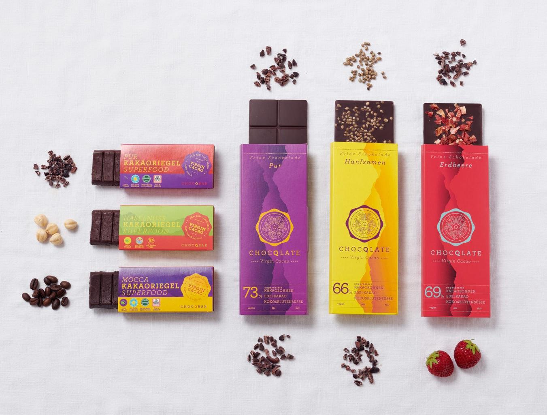 Chocola repen veganistisch van Choqlate uit München