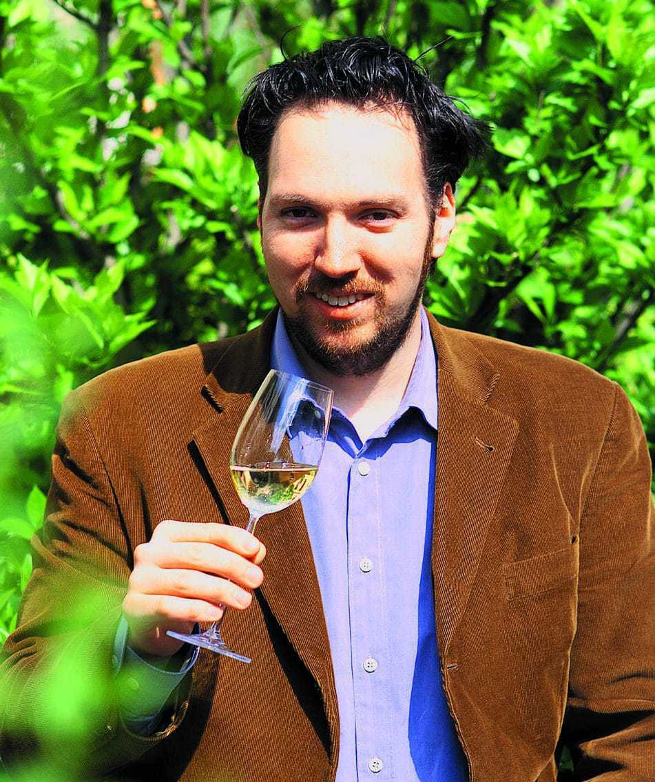 De Duitse wijncriticus Carsten Henn