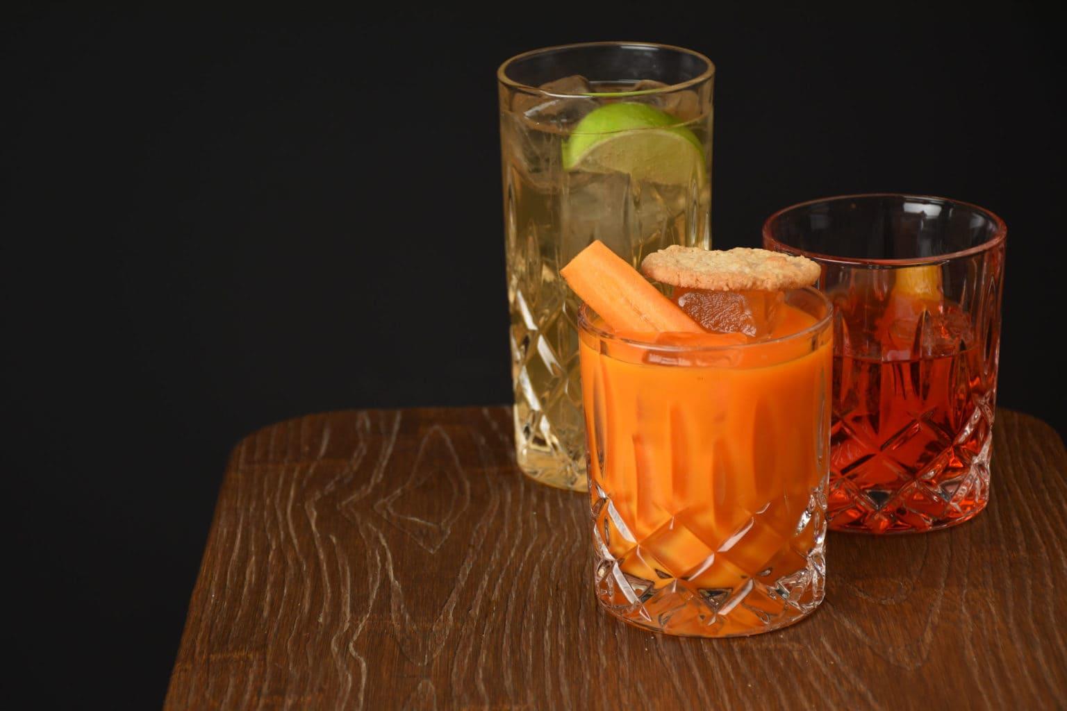 Alcoholvrije cocktails uit de bar Zeroliq in Berlijn