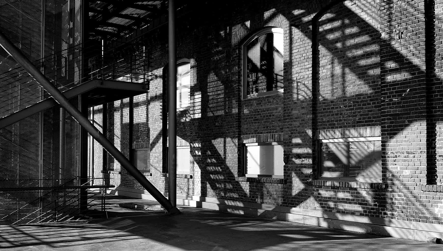 Schaduwspel in de Jahrhunderthalle in Bochum