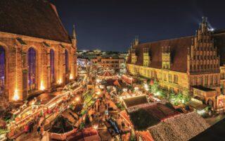 Hannover heeft een van de mooiste kerstmarkten in Duitsland
