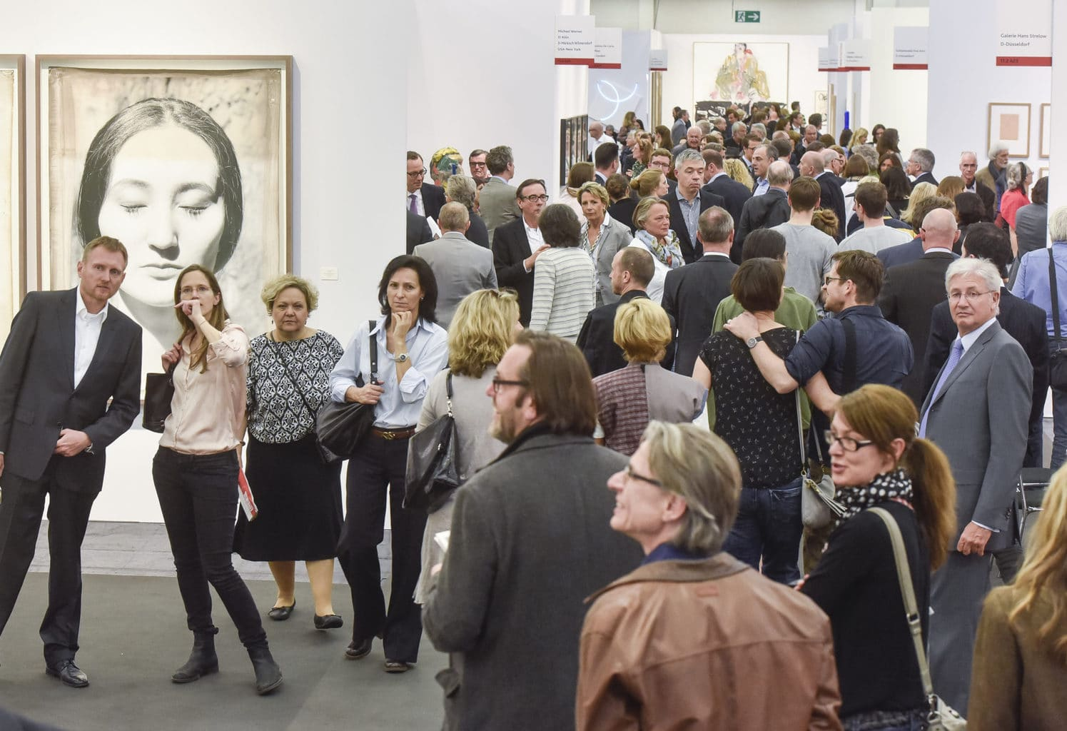 De kunstbeuers Art Cologne vindt plaats in Keulen eind november
