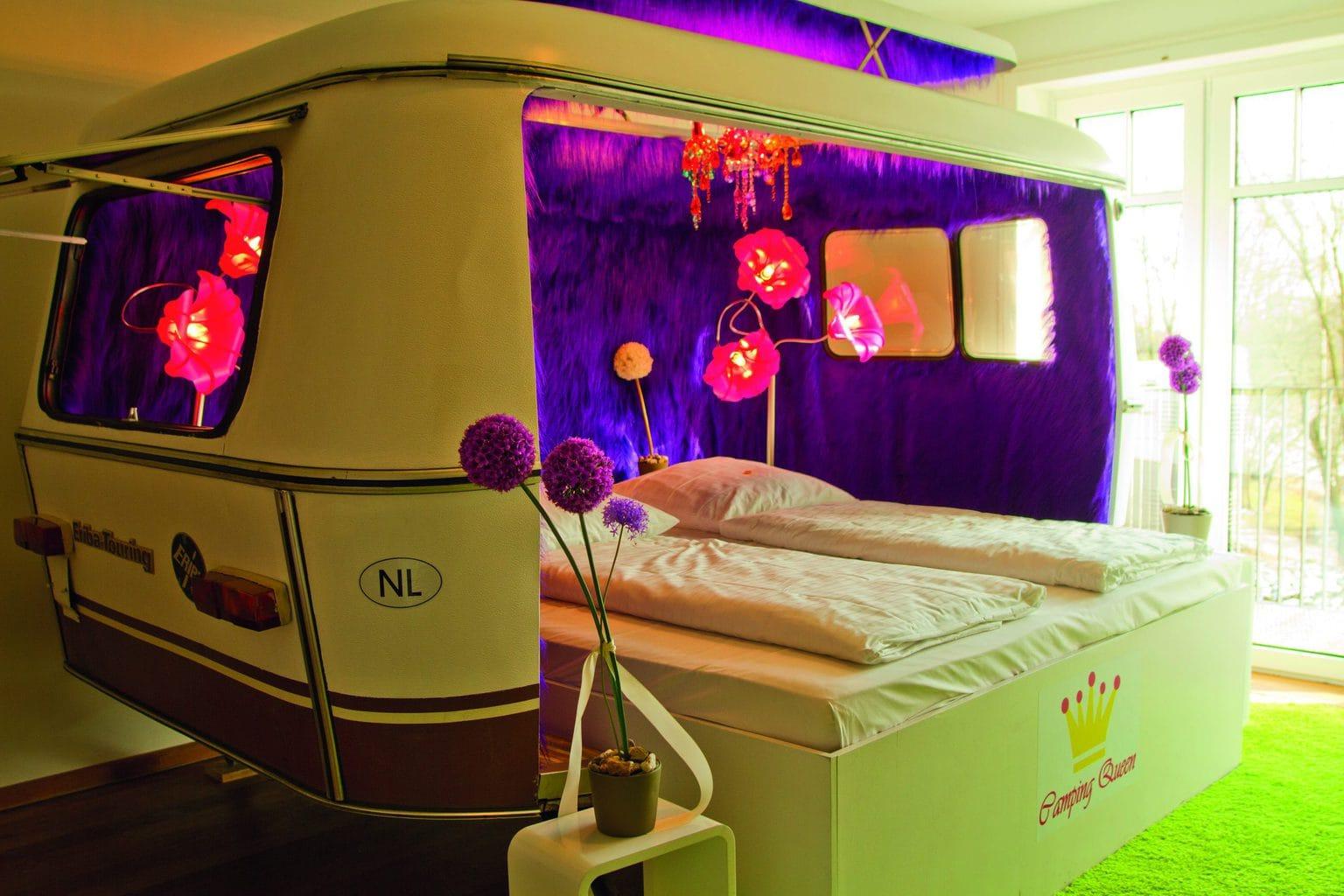 Slapen in een caravan hotel in Noordrijn-Westfalen