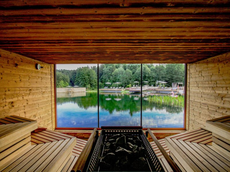 De sauna van Spa-Resort Pfalzblick