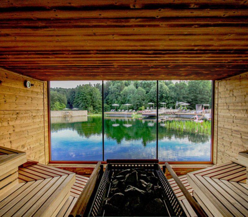 De sauna van Spa-Resort Pfalzblick