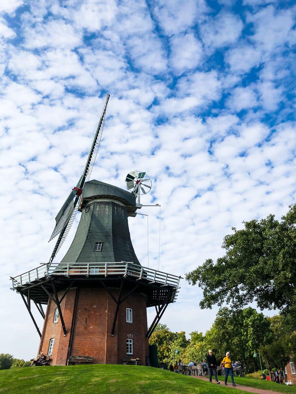 De molen van Grietsiel in Duitsland