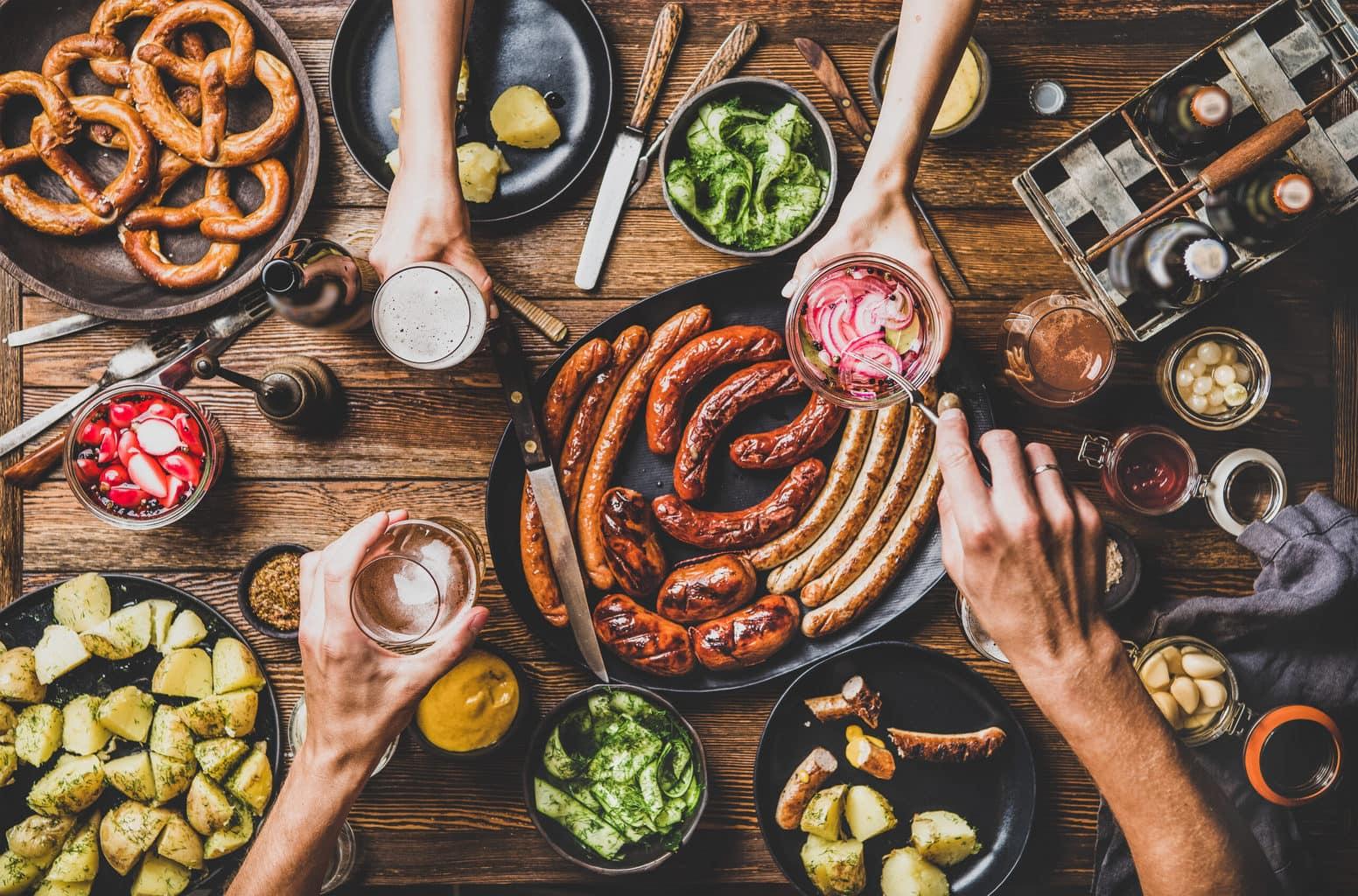 Rustieke specialiteiten uit de Duitse keuken