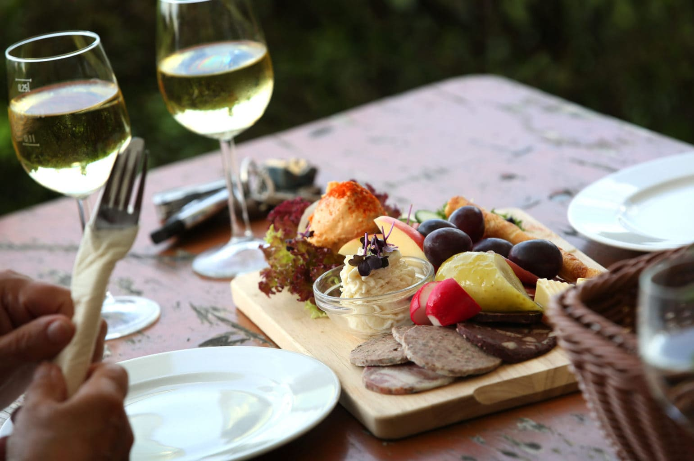 Culinaire specialiteiten behoren tot het leven in de Fränkische wijndorpjes