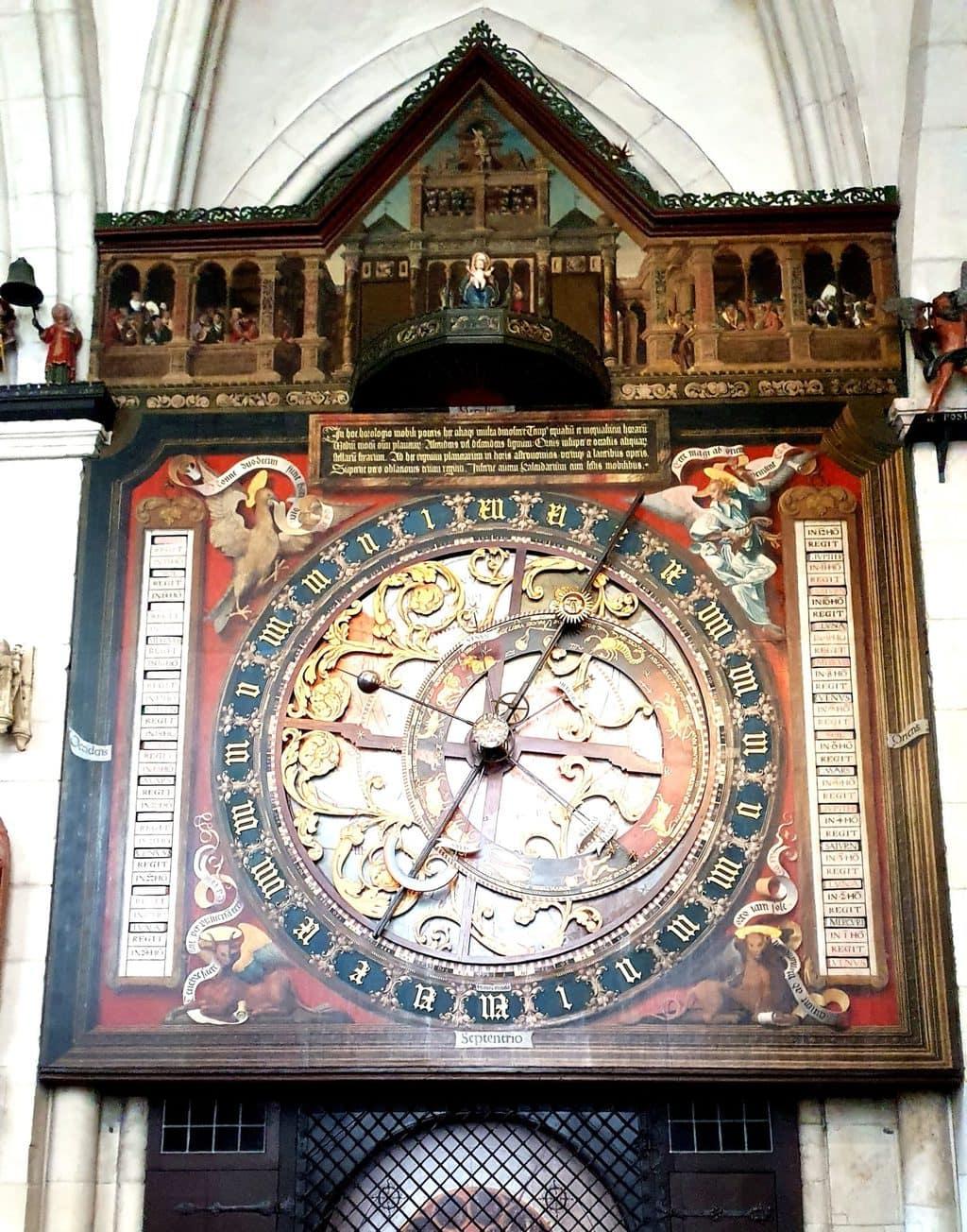 Astronomische klok St. Paulus-dom, Münster