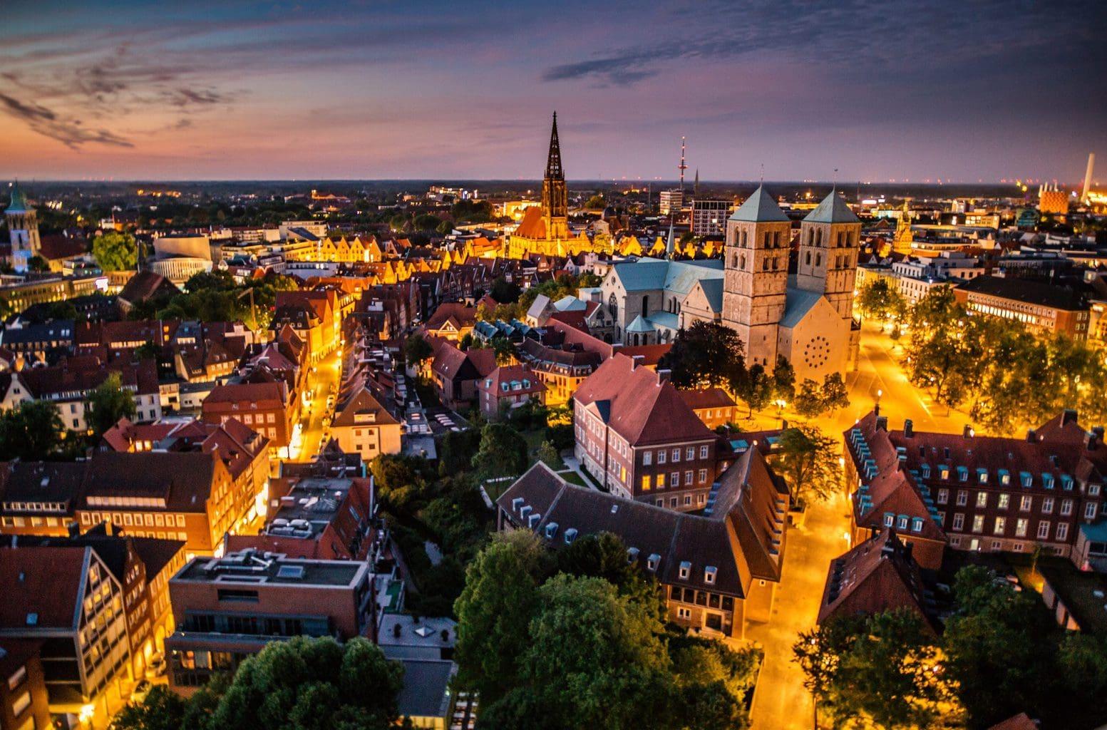 Münster van boven