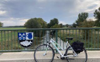 Op de fiets onderweg langs de Unstrut