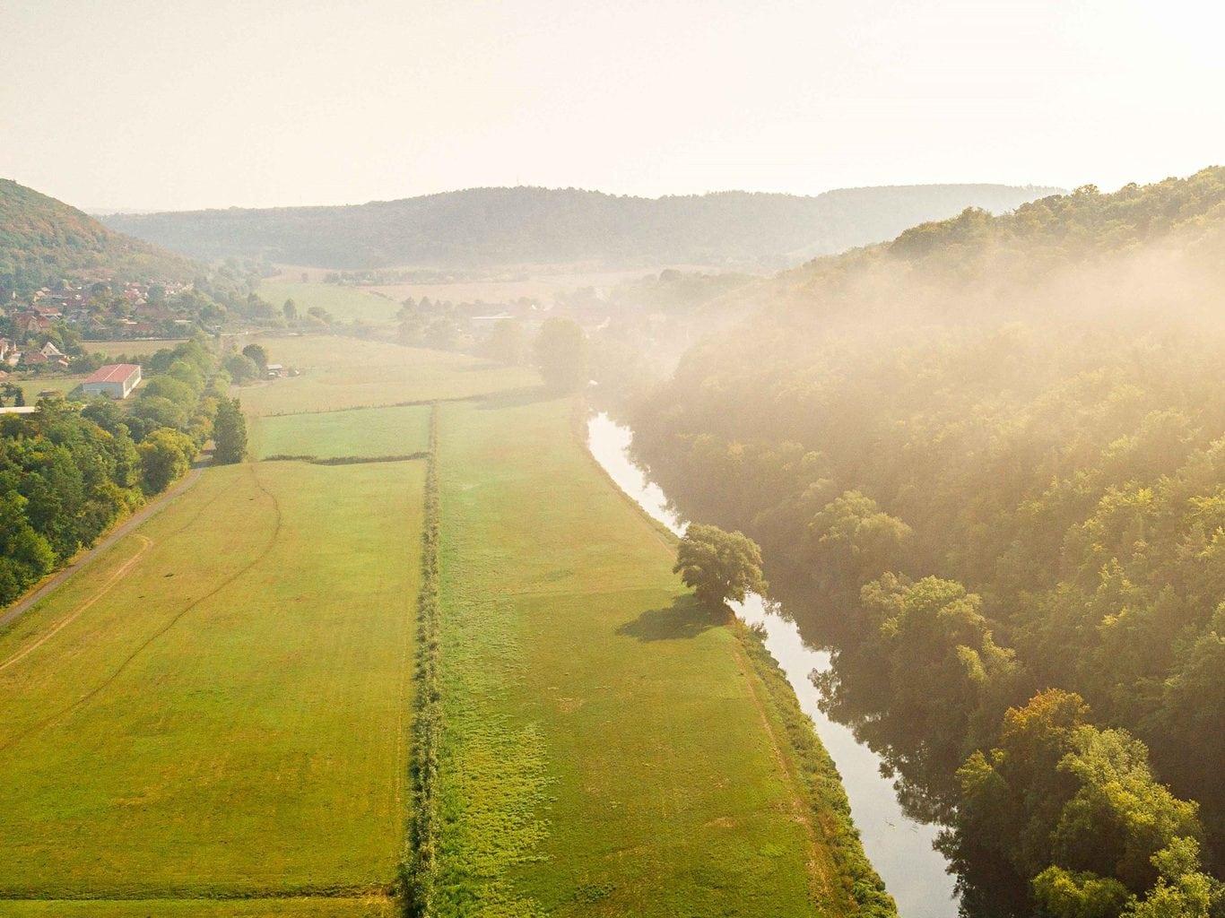 Het wordt een echte rivier